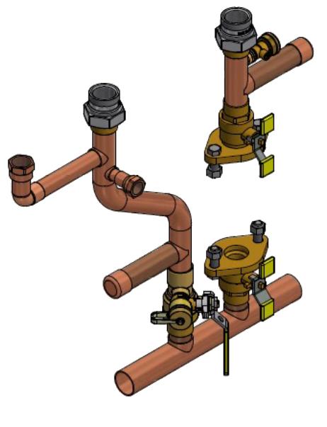 I-Series Solo Boiler Plumbing Kit