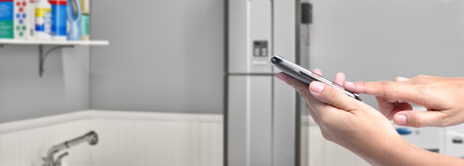 Control your Tankless Water Heater from anywhere with the Control-R app
