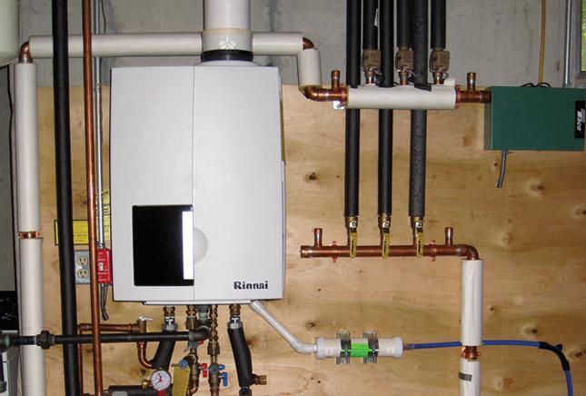 Installing Boiler Has Owner Seeing Green Rinnai