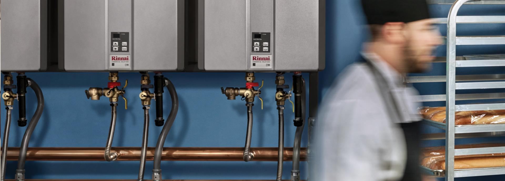 Commercial Water Heating | Rinnai America