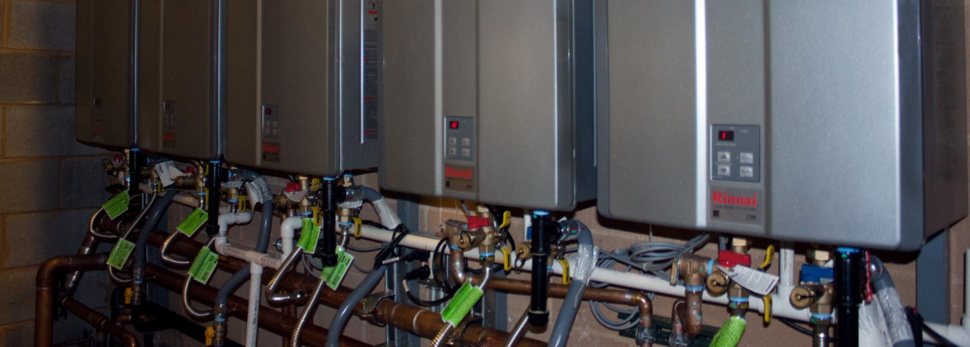 Commercial Water Heating Rinnai