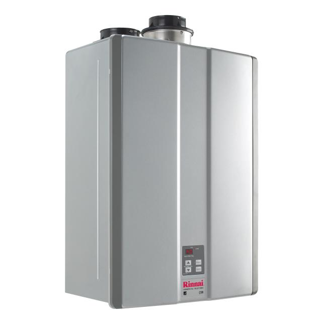 RINNAI C199I-N (KBD3237FFUDC) COMMERCIAL CONDENSING TANKLESS WATER HEATER, FORCED COMBUSTION, INDOOR ONLY, DIRECT ELECTRONIC IGNITION, 15,200 - 199,000 BTU/h